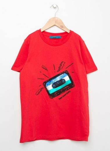 Funky Rocks Funky Rocks Kırmızı T-Shirt Kırmızı